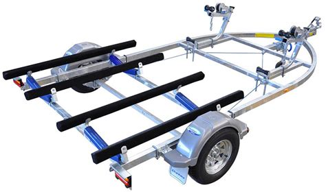 ski boat trailer parts used dunbier sports watertoy series jet ski trailer for