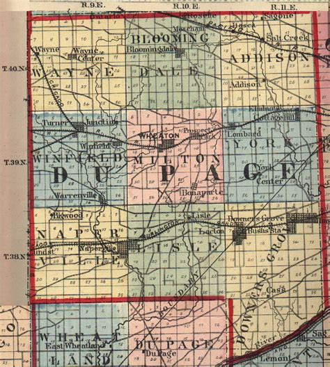 Dupage County Il Search Du Page County Illinois Maps And Gazetteers