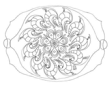 imagenes de mandalas rectangulares mandala rectangular dibujos para colorear