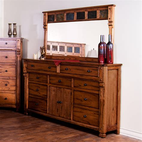 rustic white dresser with mirror dressers extraordinary rustic dressers and chests 2017