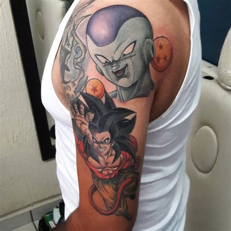 dragon ball z tattoo sleeve 21 designs ideas design trends