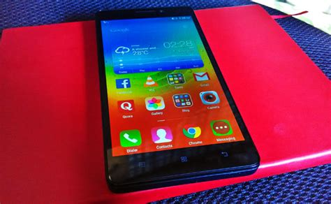 Lenovo A7000 A Plus lenovo a7000 plus with better display processor