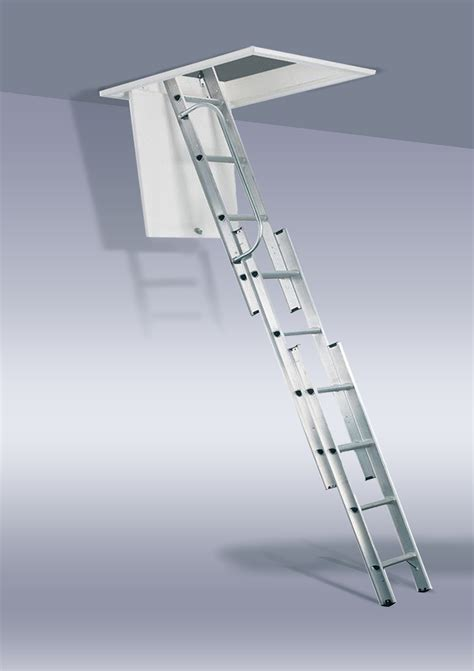 3 section ladder the loft ladder company loft ladders