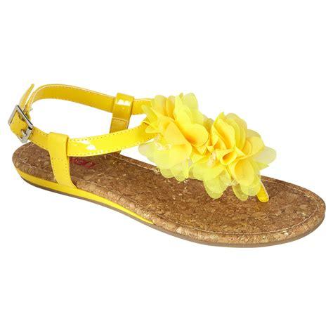 yellow sandal bongo s sandal malibu yellow shop your way