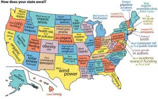 what each state is best and worst at 3 maps show the