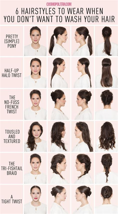 Ways To Do Your Hair After A Shower by 17 Best Images About Lazy Hairstyles On Easy