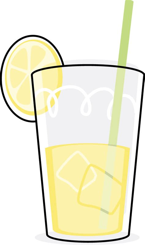 lemonade clipart glass of lemonade free images at clker vector clip