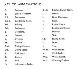 Abbreviation For Bathroom Housing Manual 1949 Part One