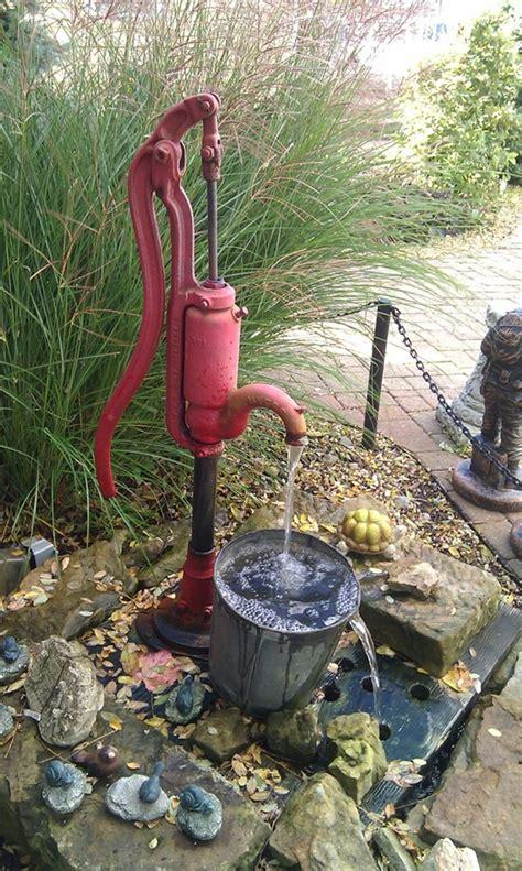 backyard water pump 40 beautiful garden fountain ideas