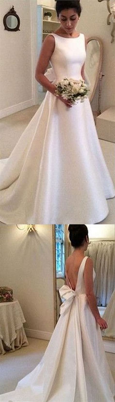 Wedding Gown Satin by 25 Best Ideas About Satin Wedding Gowns On