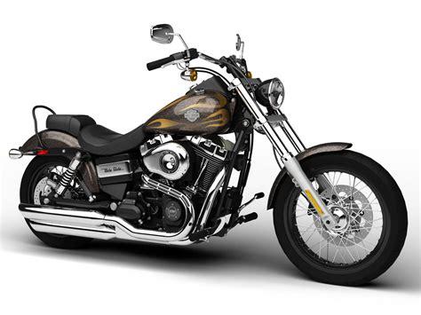 Modell Motorrad Harley by Harley Davidson Fxdwg Dyna Wide Glide 2015 3d Model Max