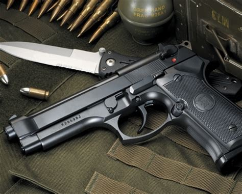 Airsoft Gun Di Batam Kjw M9 Co2