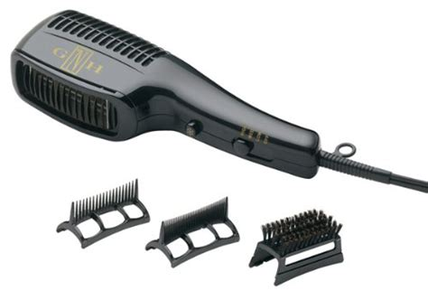 Conair Hair Dryer Brush Attachment conair styler 1875 watt hair dryer with 3 attachments dual