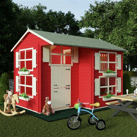 Childrens Wooden Sheds by Billyoh Mad Dash 3 0 X 2 5m Annex Log Cabin Wooden