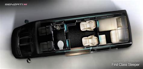 Designing A Cabin Senzati Turns The Mercedes Sprinter Into A Four Wheeled