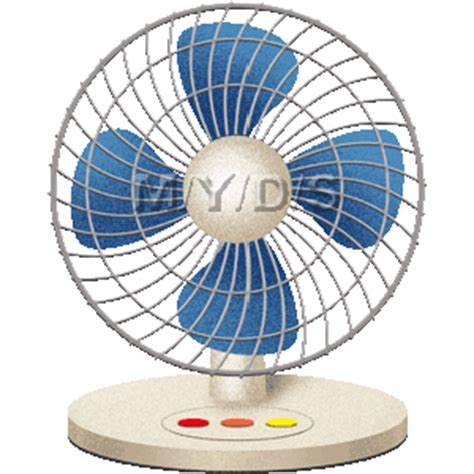 image of a fan fan clipart eletric pencil and in color fan clipart eletric