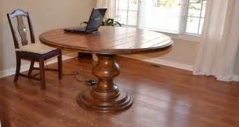 glass top dining table wood base foter