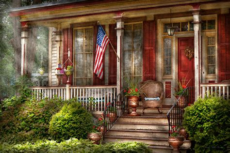 Southern Home Decor Blogs house porch belvidere nj a classic american home