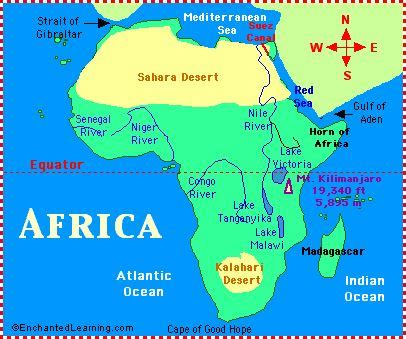 learn the map of africa easily by this 1000 images about africa on africa map