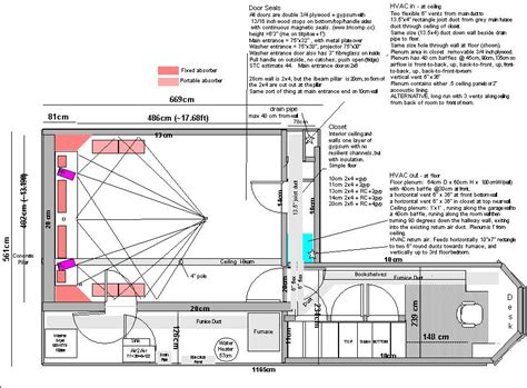 home theatre design drawings