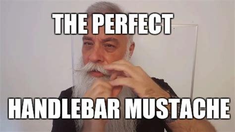 Handlebar Mustache Meme - perfect handlebar mustache youtube