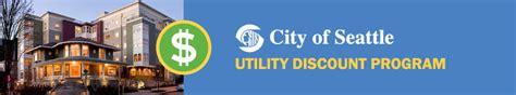 Seattle City Light Rebates by Utility Discount Housing Partnership