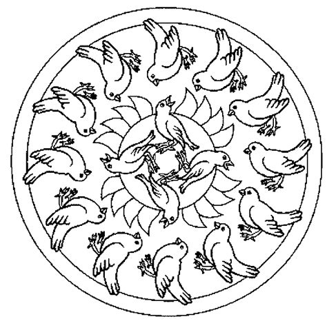 mandala coloring pages with animals free coloring pages of animal mandala