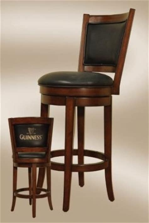 Guinness Bar Stool by Guinness Bar Stool With Backrest