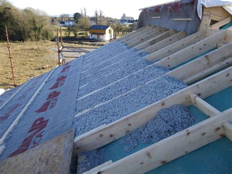 build warmcell insulation   shed roof