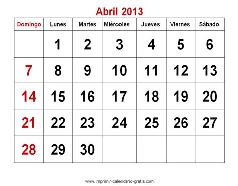Calendario Abril 301 Moved Permanently