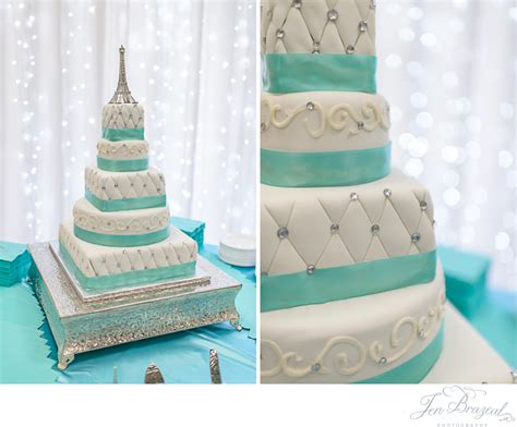 quinceanera themes paris blue and white wedding cake eiffel tower wedding cake