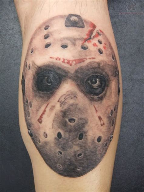 jason mask tattoo jason images designs