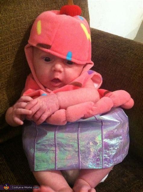 Handmade Baby Costumes - baby cupcake costume