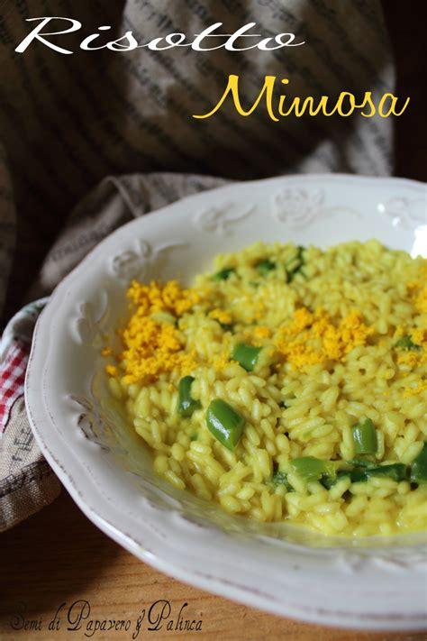 come cucinare gli asparagi freschi risotto mimosa con asparagi freschi o surgelati