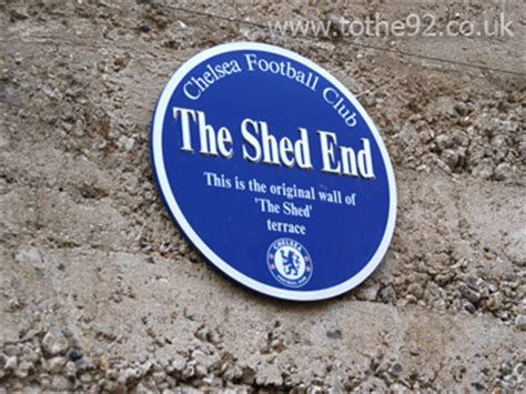 Chelsea Fc Shed End by The Shed End Stmford Bridge Chelsea Fc 187 Football A 45