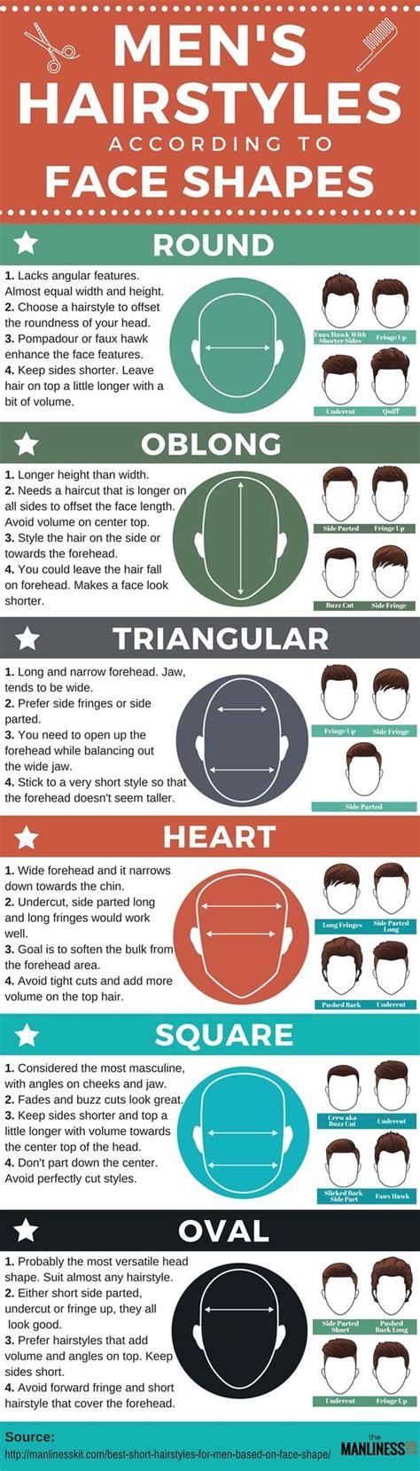 hairstyles for men based on face shape short hairstyles for men face shape hair and face shapes