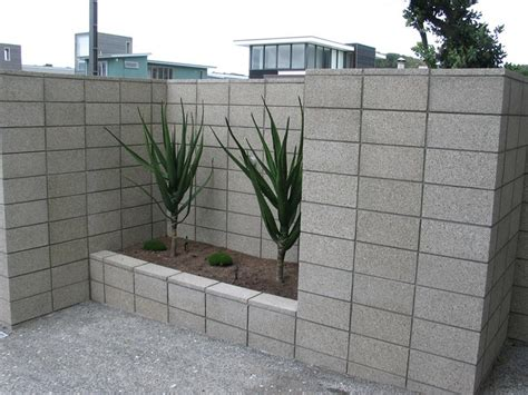 Concrete Blocks For Garden Walls Cinder Block Retaining Wall Ideas For Better Look