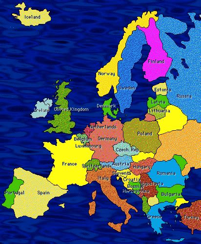 southern europe map europe globalization
