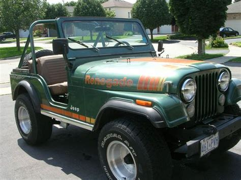 1979 Jeep Renegade For Sale Find Used 1979 Jeep Cj5 Renegade In Waterloo Ontario Canada