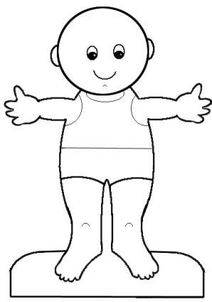 printable body shapes easy kids paper crafts lovetoknow