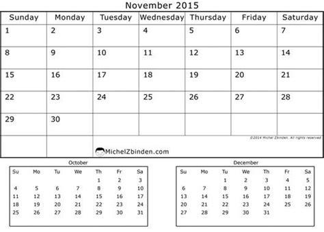 printable monthly calendar november and december 2015 17 best images about november 2015 calendar on pinterest