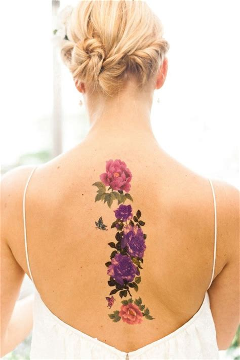 floral back tattoos 88 best flower tattoos on the amazingly beautiful