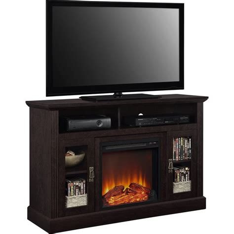 50 quot fireplace tv stand in espresso 1764096pcom