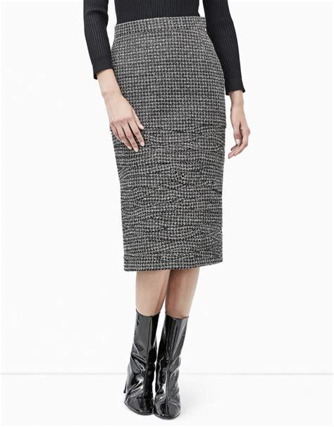 irregular micro pleated skirt skirts roberto