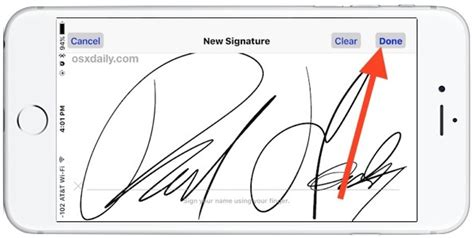 How To Sign Documents On