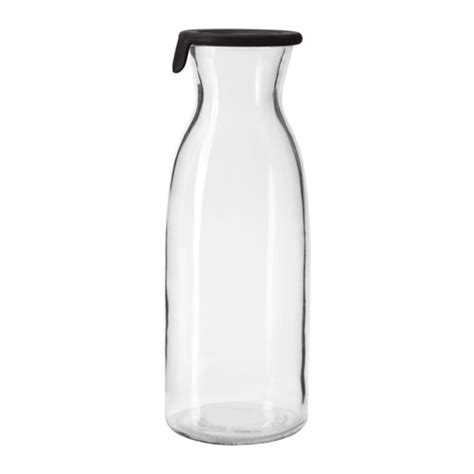 VARDAGEN Carafe with lid Clear glass 1.0 l   IKEA