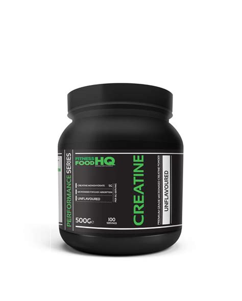 creatine is high creatine monohydrate fitness food hq