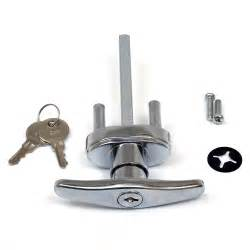 buy garage door lock t handle w 2 universal