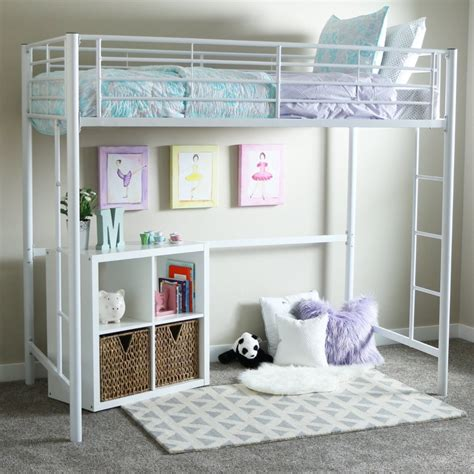 girl loft beds white loft beds for girls with desk loft bed deals