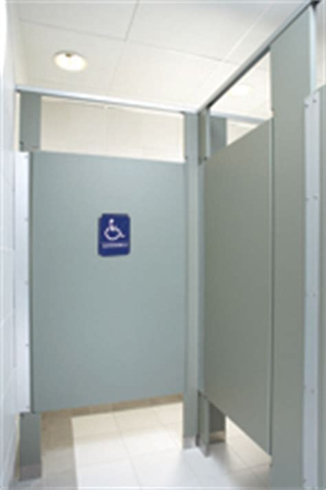 Bathroom Stall Signs by Handicap Sign